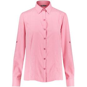 Meru Visalia Naiset Pitkähihainen paita , vaaleanpunainen